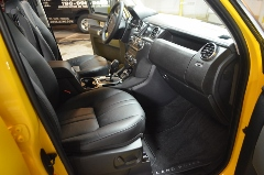 Thorough Wipe-down of dashboard area, cup holders, and doors