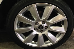 End results of a complete rim repair service