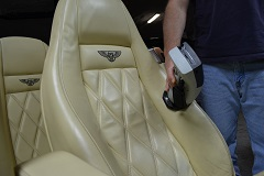 Professional leather color-matching using our Interior Leather Software