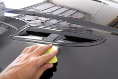 Clay bar treatment on all painted surfaces in order to remove all embedded contaminants